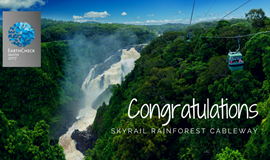 Skyrail Rainforest Cableway honoured as EarthCheck Master